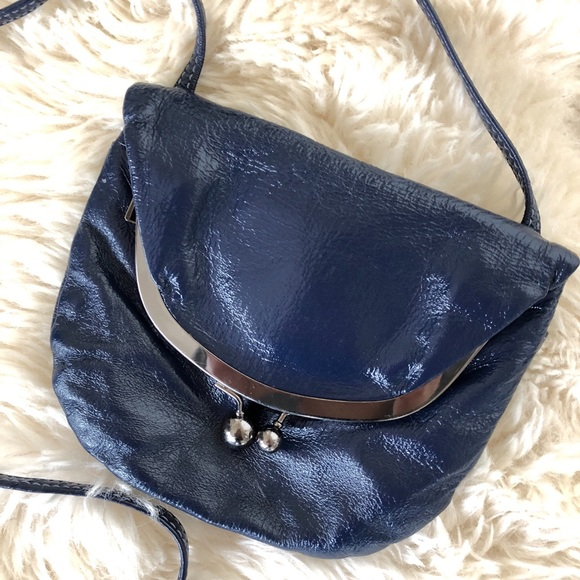 d7f1b5f939ee HOBO Handbags - HOBO Int'l Maisie Cobalt patent leather crossbody.